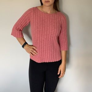 Gap 3/4 sleeve sweater